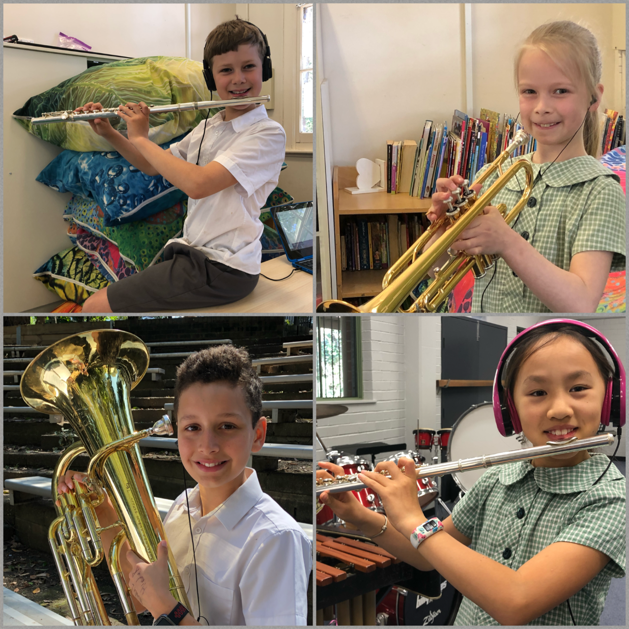 Wahroonga Public School students show their commitment to Band