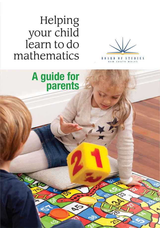 Helping your child learn to do mathematics.