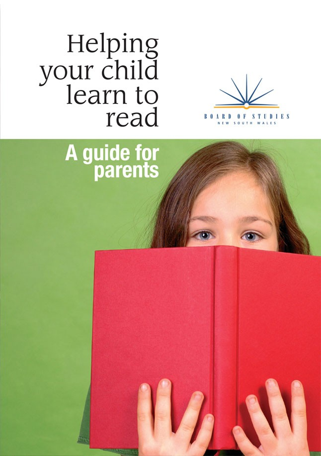 Helping your child learn to read.